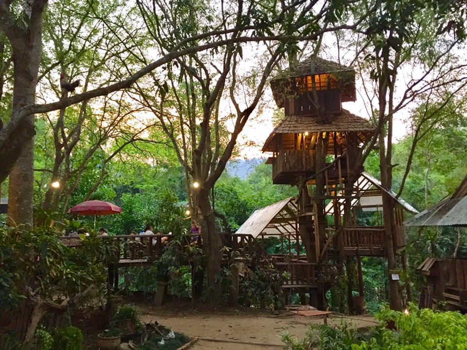 Rabeang Pasak Treehouse Resort Chiang Mai