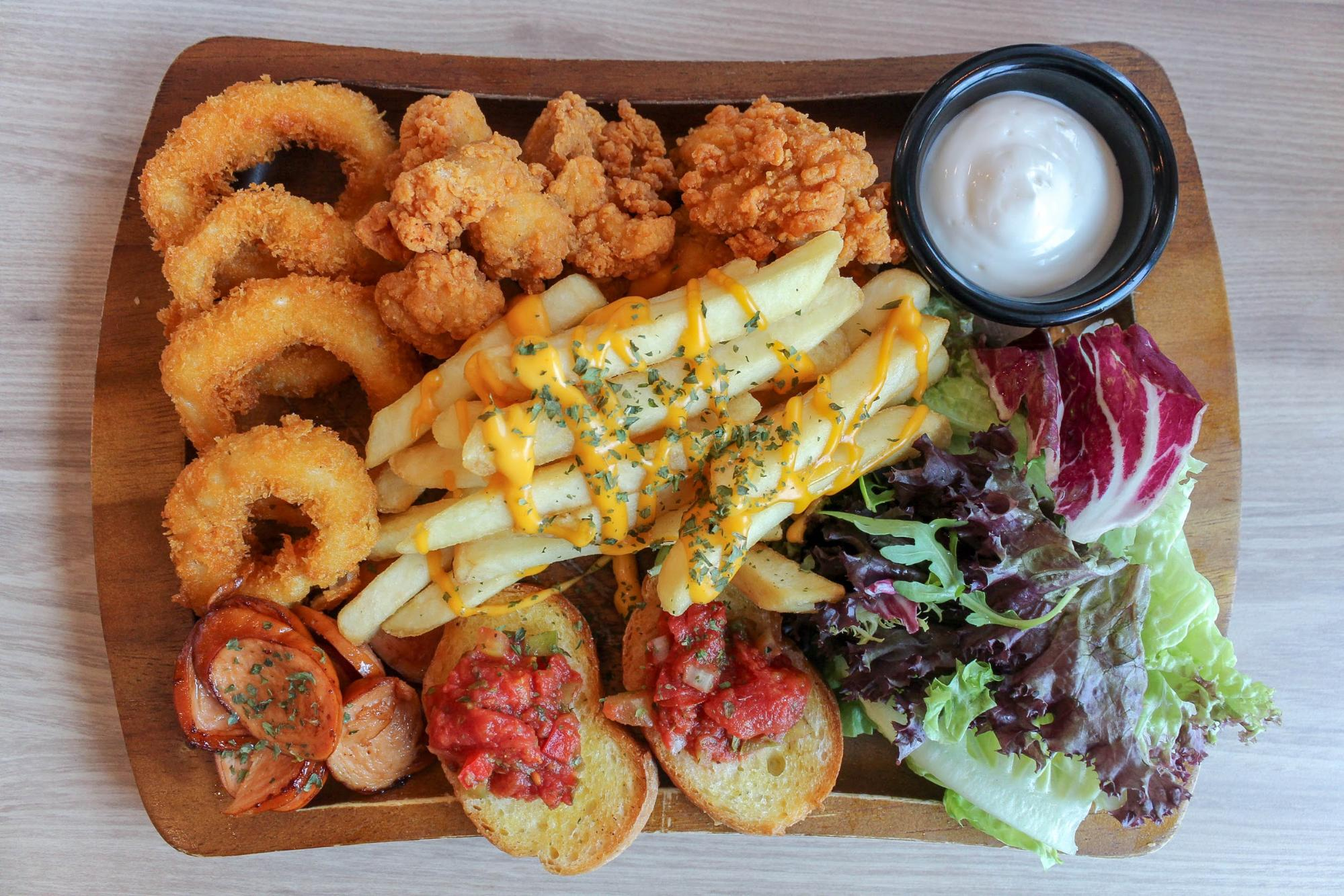 HyfeCafe Sharing Platters