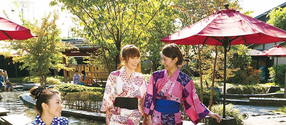 Ooedo-Onsen Monogatari Hot Spring Theme Park