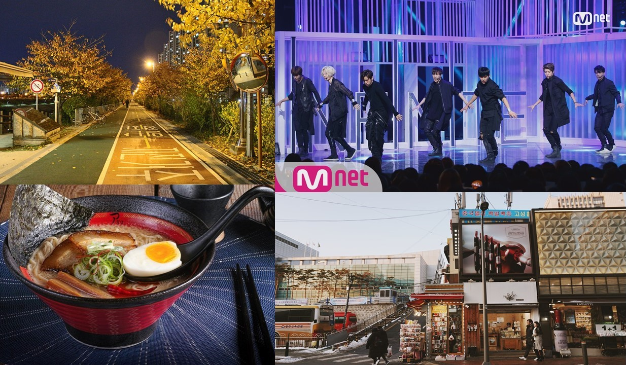Celebrity hotspots in Hongdae Seoul korea