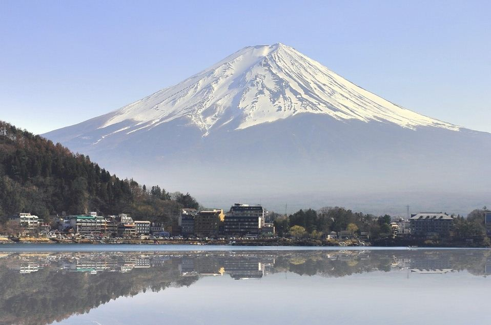 View of Mount Fuji from Nagoya