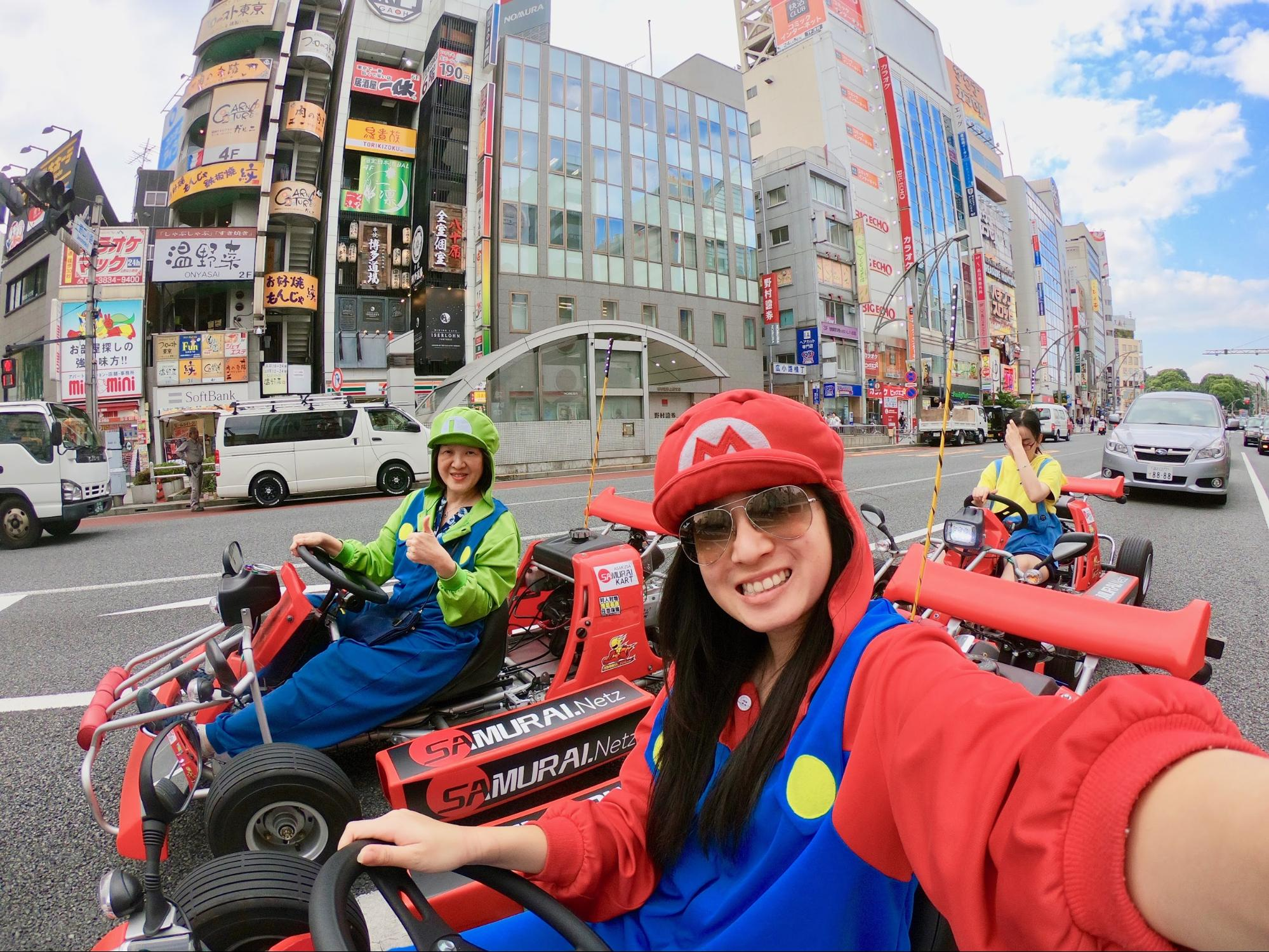 You Can Drive A Real Life Mario Kart Along The Streets Of Japan