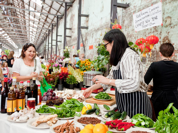 Carriageworks Farmers Market, Sydney