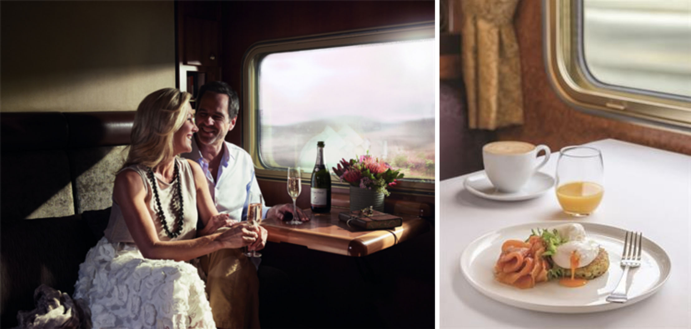 The Indian Pacific - Great Southern Rail Dining