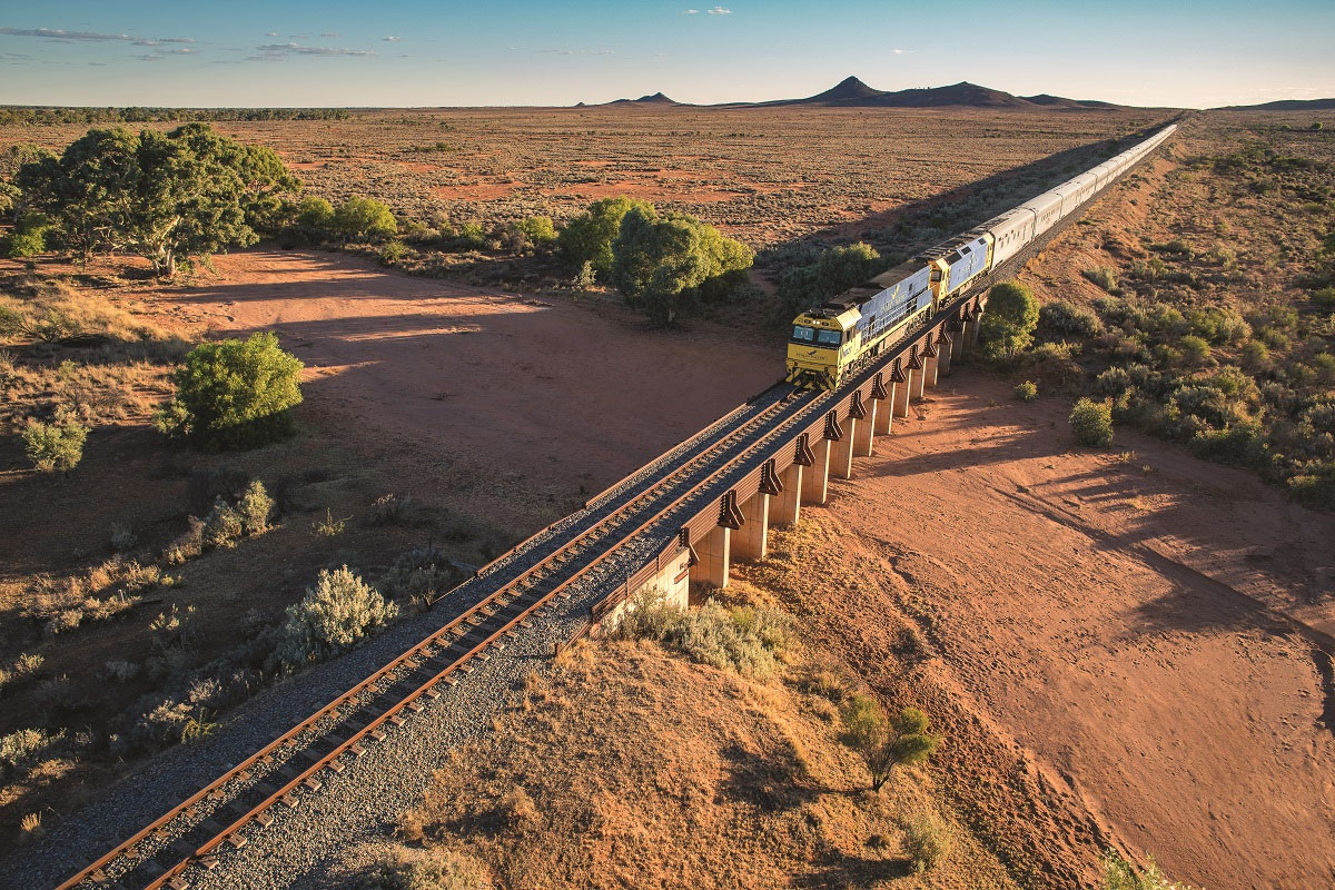 The Indian Pacific - Great Southern Rail