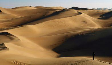 Iran Varzaneh Desert