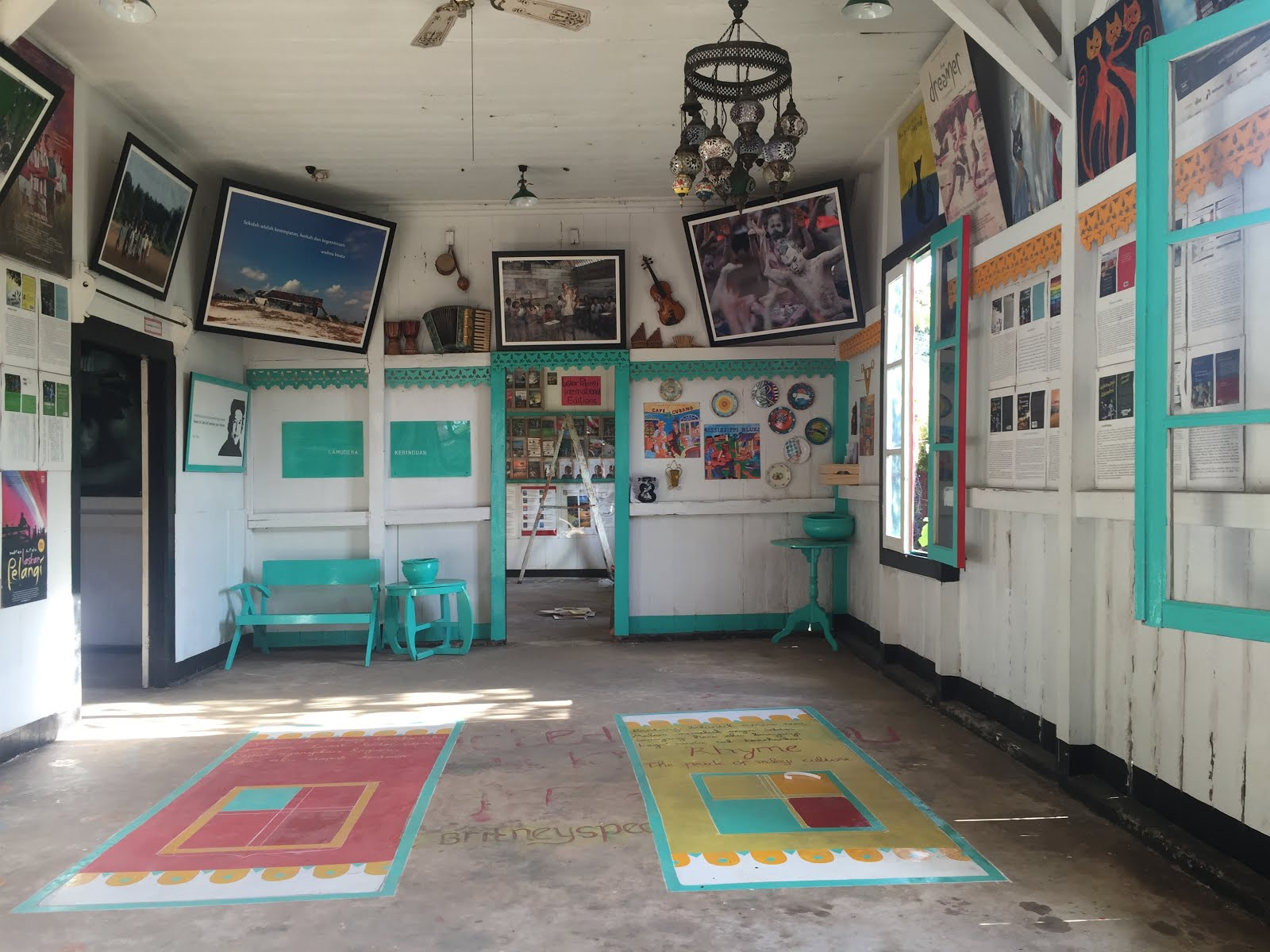 Du Lịch Belitung - Indonesia bảo tàng Kata Andrea Hirata