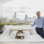 Dr Michael Breus, sleep doctor, with the Princess Cruises Luxury Bed