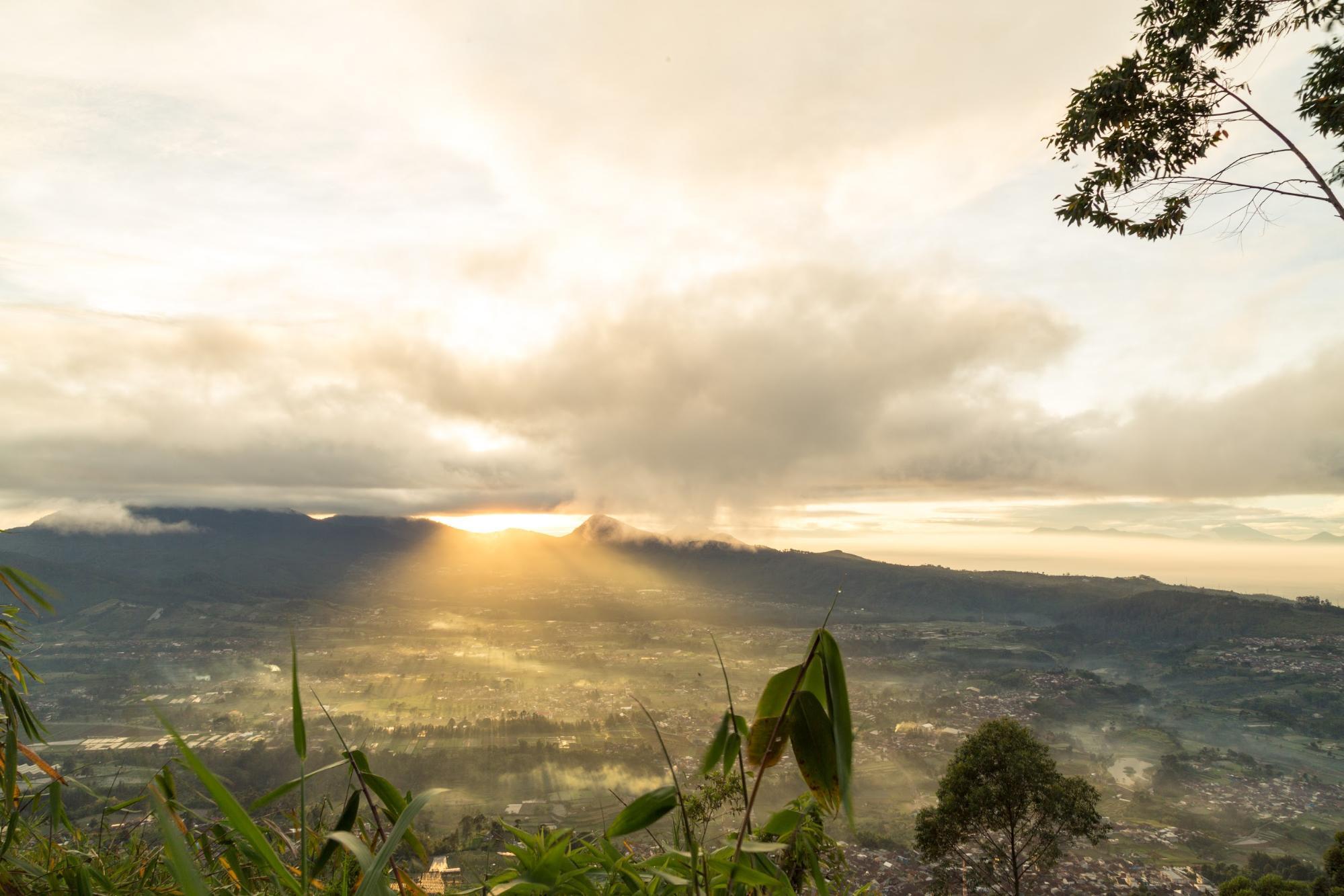 Bandung-Indonesia cảnh quan thiên nhiên