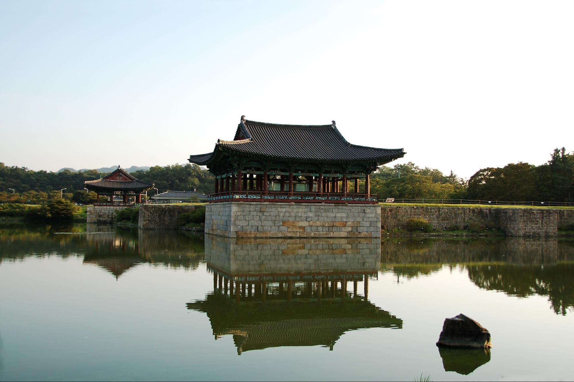 Điền trang Donggung và hồ Wolji, Gyeongju