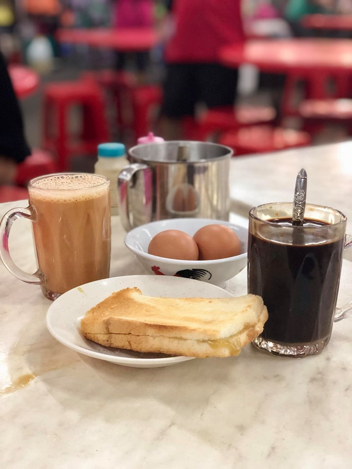 Hainan Kaya Toast and Coffee