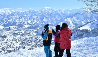 winter in nagano, niigata