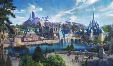 Frozen Theme Park at Disneyland Paris