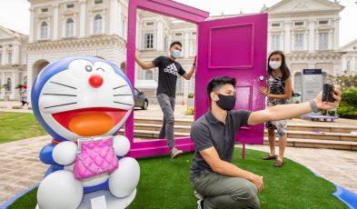 Doraemon exhibition Singapore