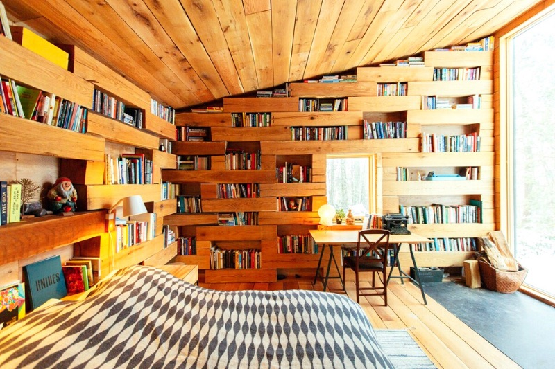 These Cosy Airbnbs With Libraries Are Every Book Lover's Dream