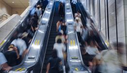 Why It's Illegal to Walk on Saitama, Japan Escalators