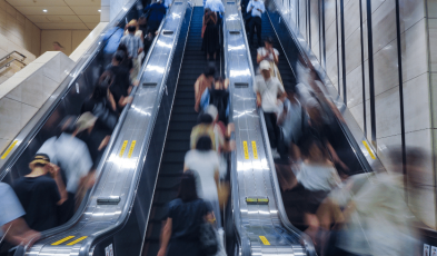 Why It's Illegal to Walk on Saitama, Japan Escalators