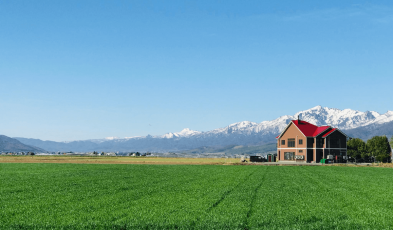Is This Hokkaido Bed and Breakfast Furano, Japan's Prettiest?