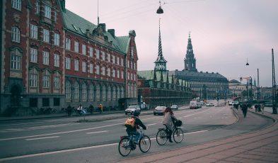biking around Denmark