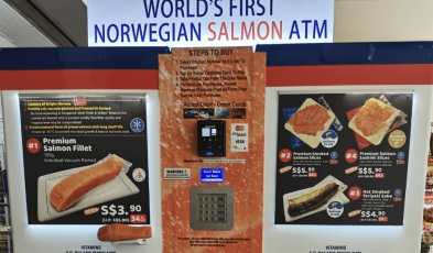 Where You Can Find Salmon Vending Machines in Singapore