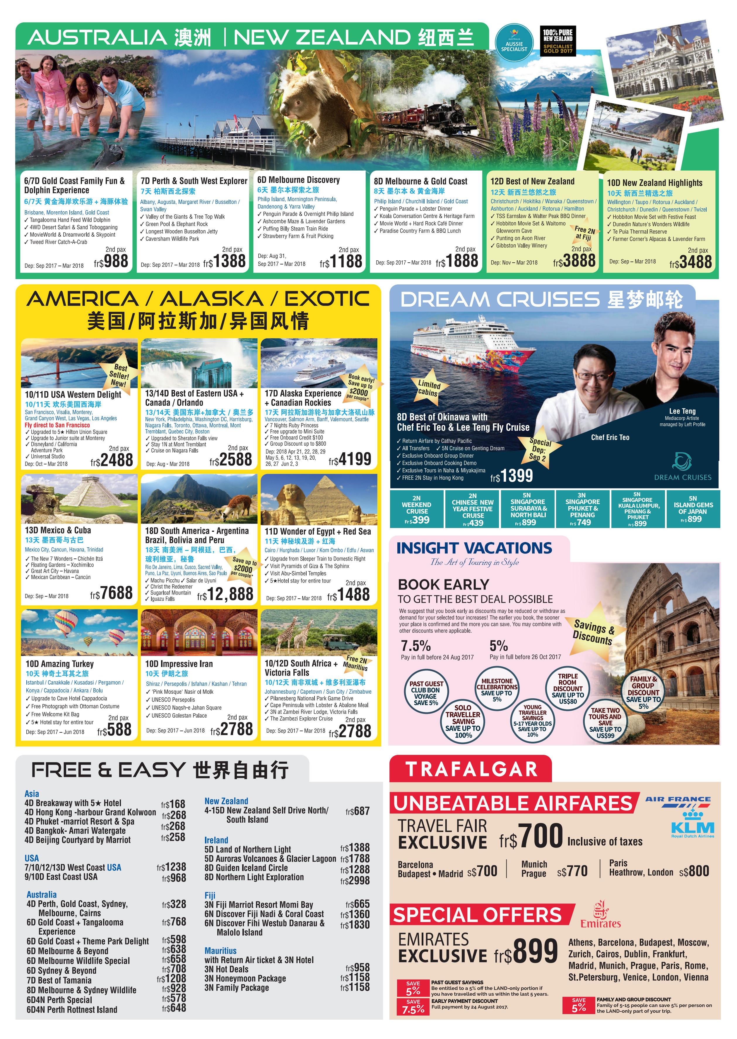 EU Asia / EU Holidays - Brochures