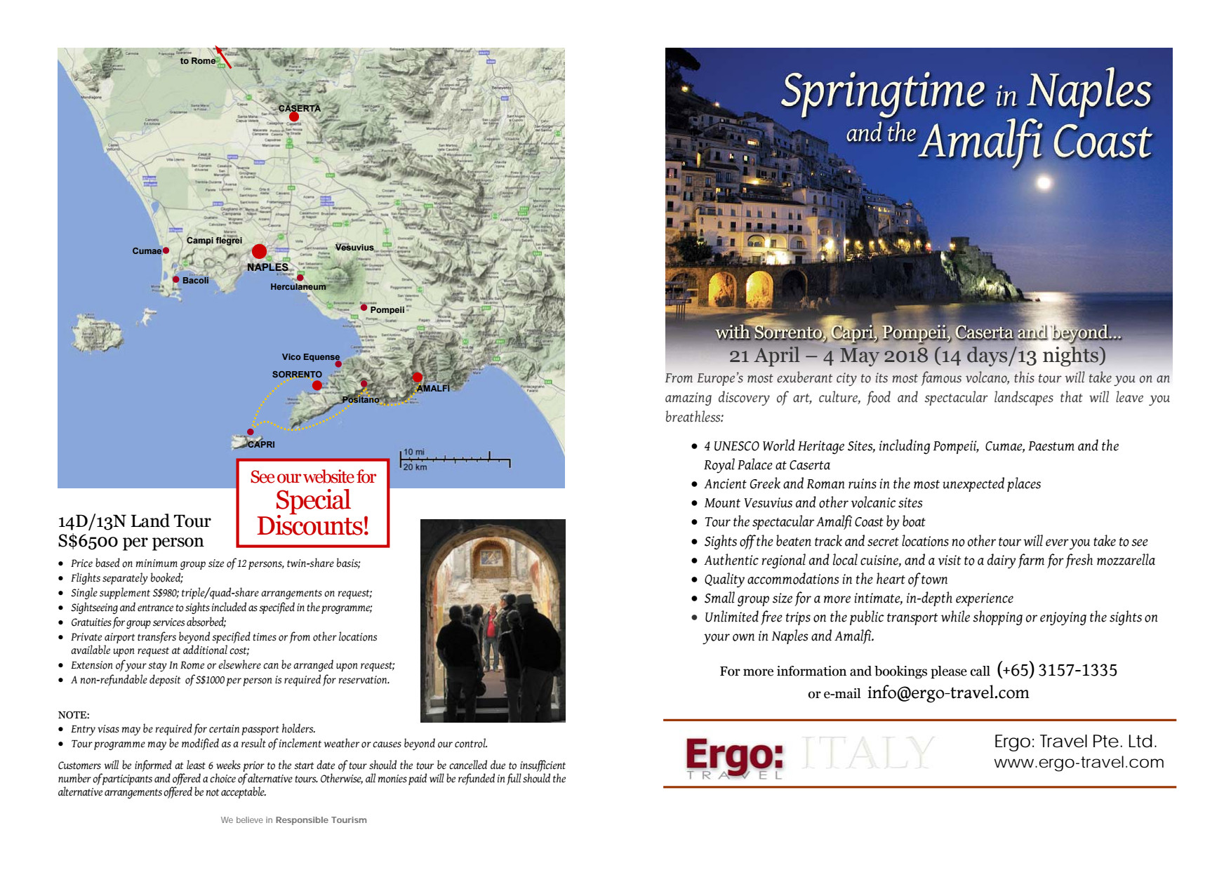 Ergo: Travel - Brochures