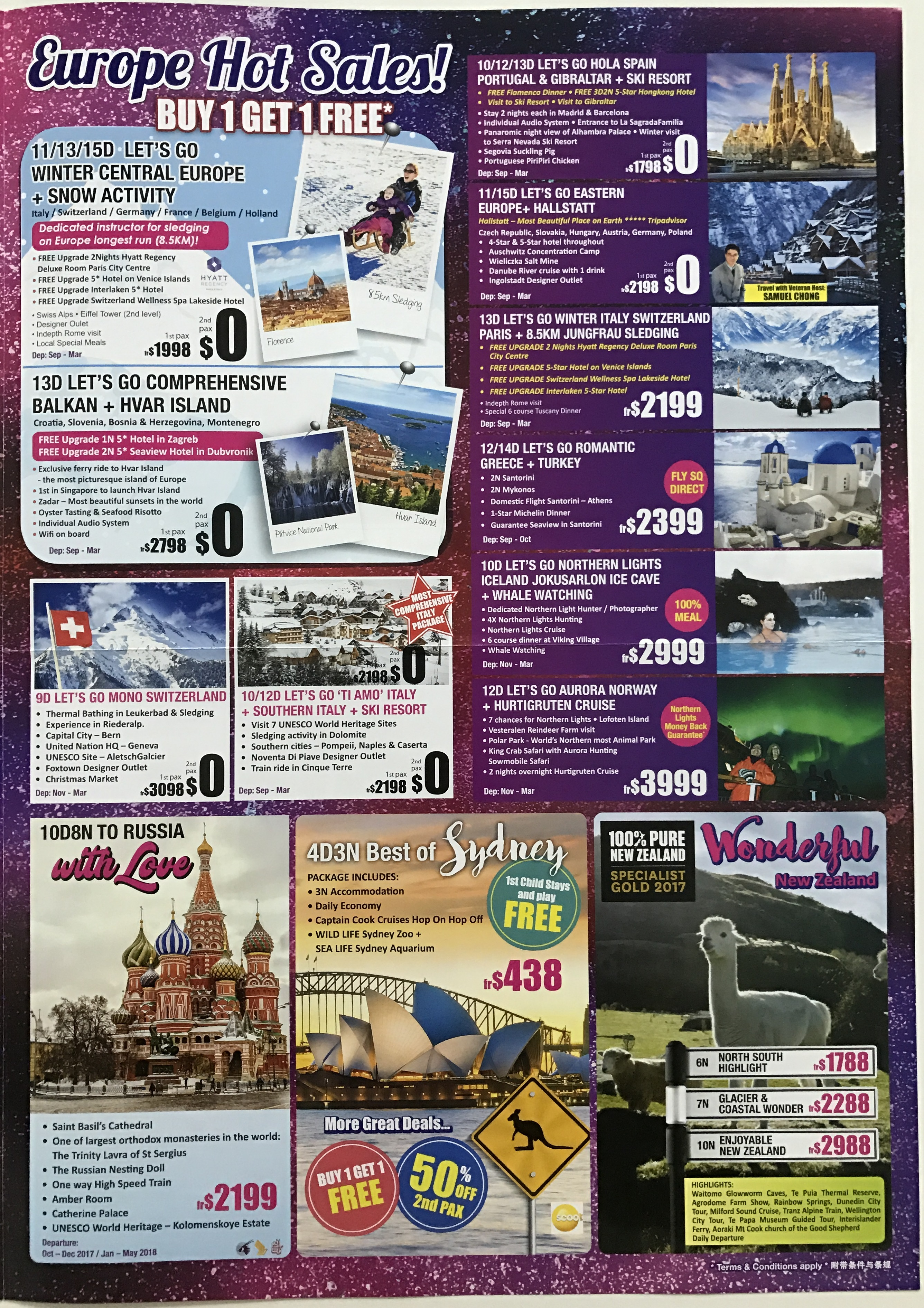 Travel 21 - Brochures