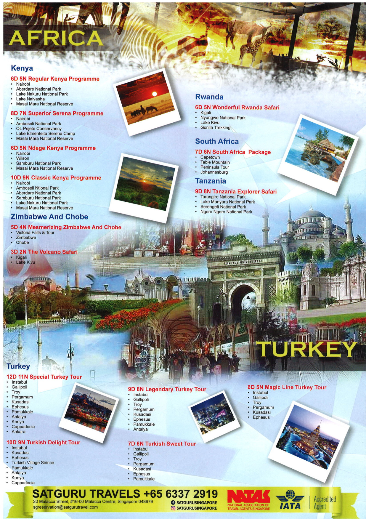 Satguru Travels - Brochures