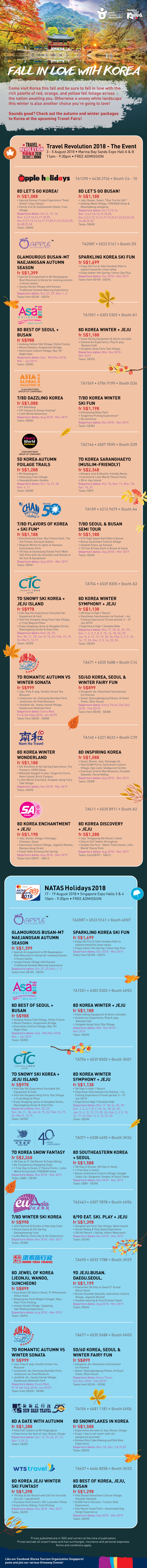 Korea Tourism Organisation - Brochures