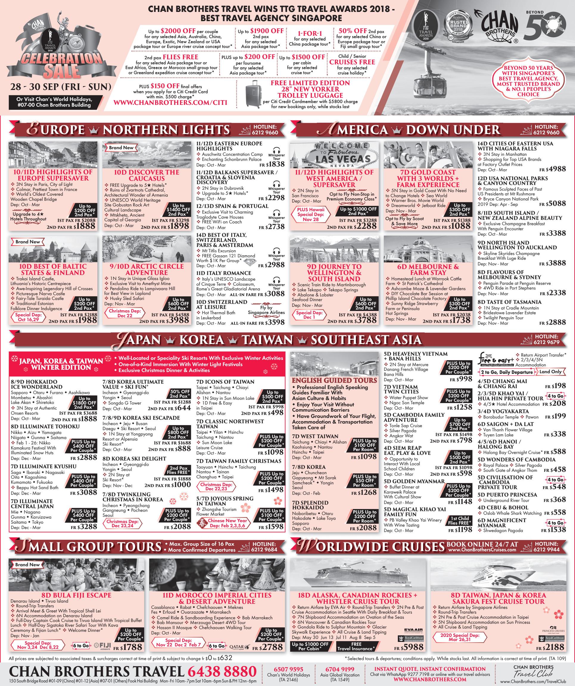Celebration Sale - Brochures