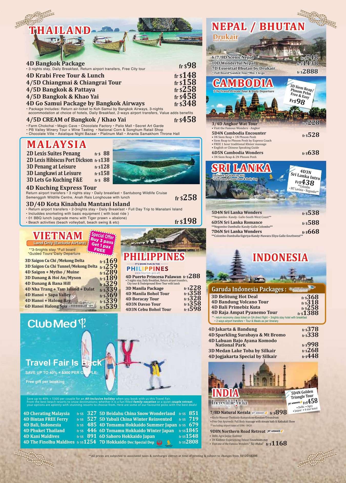 Euro-Asia Holidays - Brochures