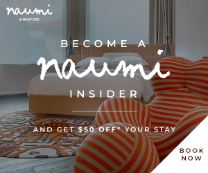 Naumi Hotel Rotating Square (9 Sep - 30 Sep)