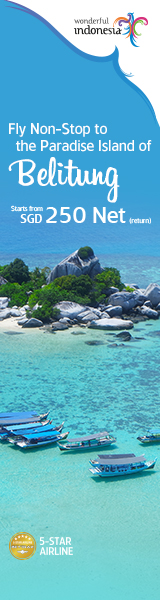 Wonderful Indonesia x Belitung (15 - 21 Oct)