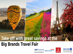 Big Brands Travel Fair