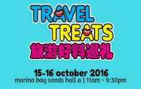 Travel Treats at Marina Bay Sands Hall