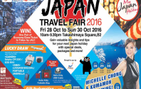 Japan Travel Fair 2016 at Takashimaya Square