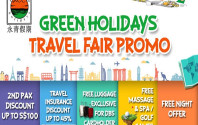 Green Holidays Travel Fair Promo 2017