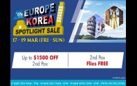 Europe Korea Spotlight Sale