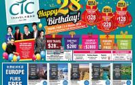Celebrate CTC's Happy 28 Birthday!