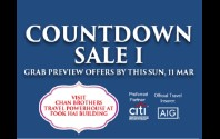 Chan Brothers Travel - Countdown Sales I