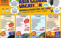 Asia Global Vacation Roadshow @ Causeway Point