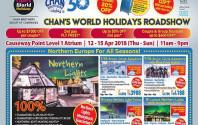 Chan's World Holidays Roadshow @ Causeway Point