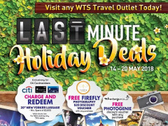 Last Minute Holiday Deals with WTS Travel & Tours