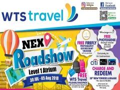 NEX Roadshow Level 1 Atrium from 30 Jul - 05 Aug 2018