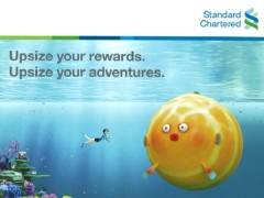 Spend and reward yourself with Standard Chartered at Travel Revolution