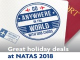 Charge your holidays to UOB Cards to redeem at NATAS 2018!