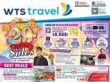 WTS Travel 29th Birthday Bash Sales @ Causeway Point from 22 - 26 Aug!
