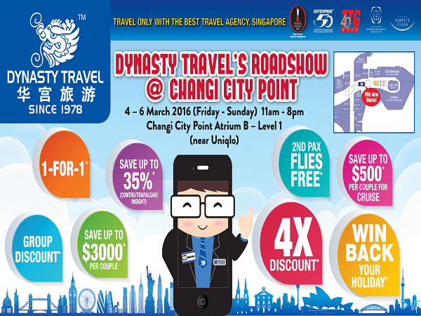 Dynasty Travel's Roadshow