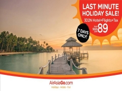 Last Minute Holiday Sale! | 7 Days only Sale at AirAsiaGo
