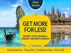 Great Deals from SilkAir with Expedia from SGD253 for Flight + Hotel
